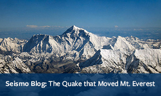 Seismo Blog: The Quake that Moved Mt. Everest
