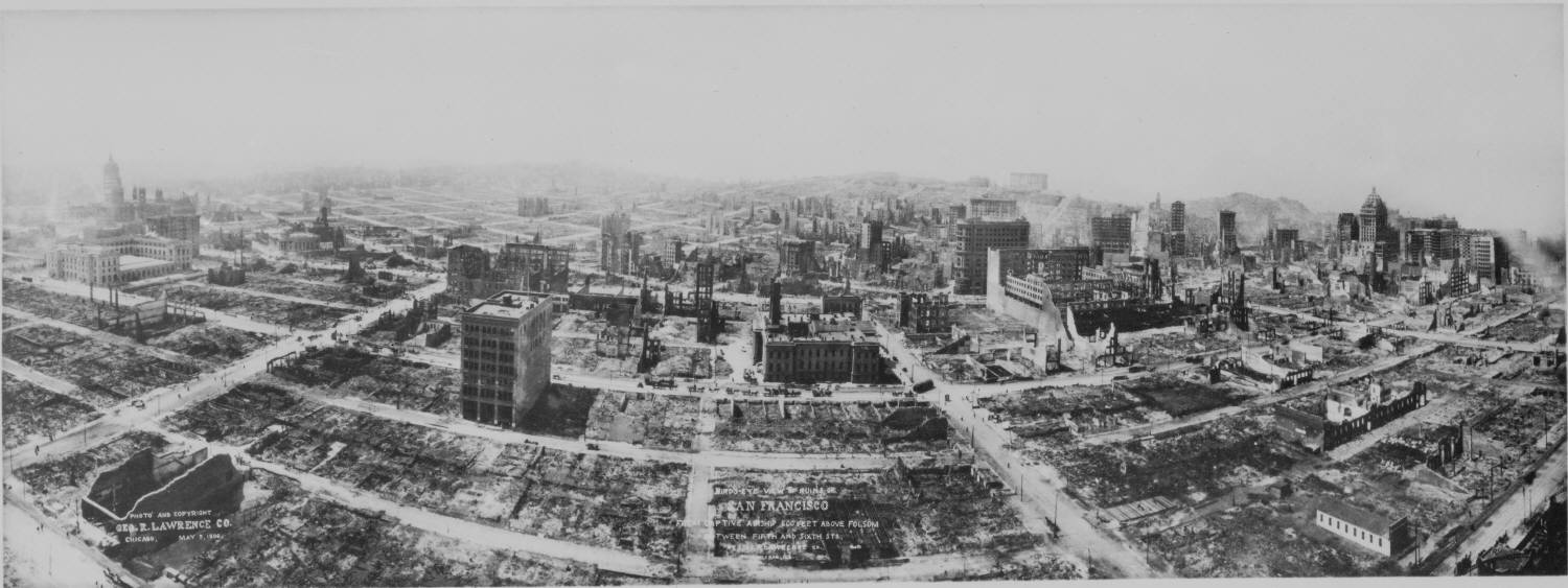 1906 m7 9 san francisco earthquake