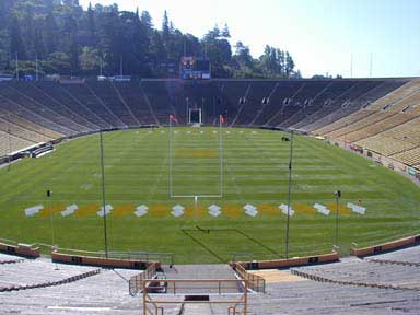 Interior of Cal Memorial Stadium <br>Courtesy of the Department of Recreational Sports