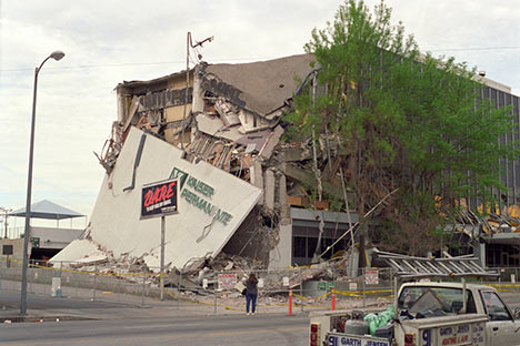 Damage from Northridge earthquake